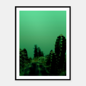 Thumbnail image of Cactus Dream Framed poster, Live Heroes