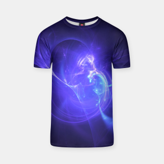 Thumbnail image of Deep Space Abstract Fractal Art Design T-shirt, Live Heroes