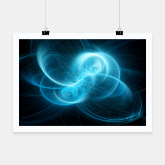 Thumbnail image of Making Contact Abstract Fractal Art Design Poster, Live Heroes