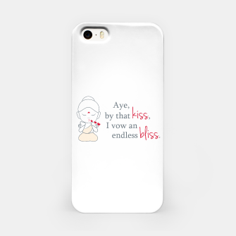 Miniaturka The graphic shows a cute Buddha blowing kisses. Buddha has a lotus or 'padma' on his forehead which is a symbol of peace and purity of the mind, body and soul. iPhone Case, Live Heroes