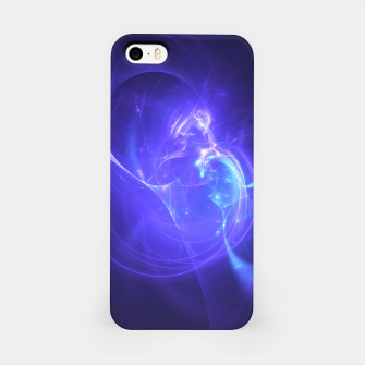 Thumbnail image of Deep Space Abstract Fractal Art Design iPhone Case, Live Heroes