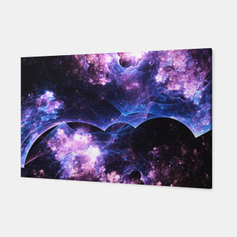 Thumbnail image of Grunged Space Abstract Fractal Art Canvas, Live Heroes
