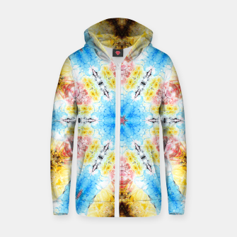 Thumbnail image of Daylight Pattern Zip up hoodie, Live Heroes