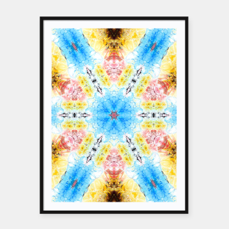 Thumbnail image of Daylight Pattern Framed poster, Live Heroes