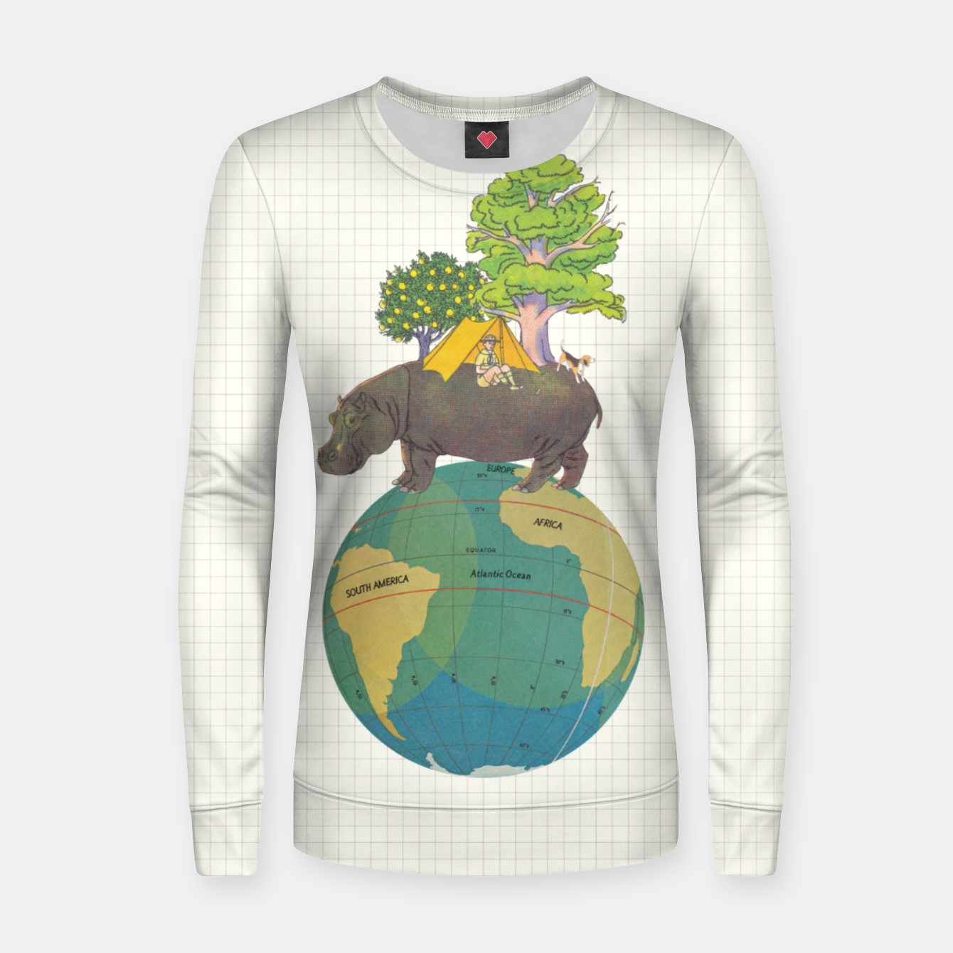 Foto Camping Life Women sweater - Live Heroes