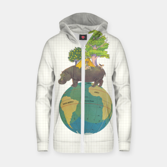 Thumbnail image of Camping Life Zip up hoodie, Live Heroes