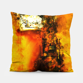 Thumbnail image of gxp refreshing yeast wheat beer splatter watercolor Pillow, Live Heroes