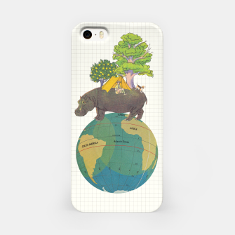 Miniatur Camping Life iPhone Case, Live Heroes