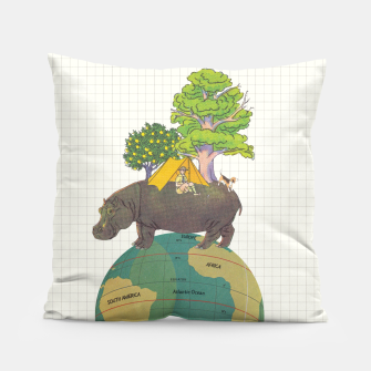 Miniatur Camping Life Pillow, Live Heroes