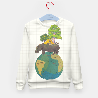 Miniatur Camping Life Kid's sweater, Live Heroes