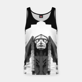 Thumbnail image of Indian face sculpture Tank Top, Live Heroes