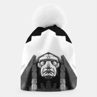 Thumbnail image of Indian face sculpture Czapka, Live Heroes