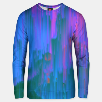 Miniaturka Neon Noir - Glitchy Abstract Pixel Art Unisex sweater, Live Heroes