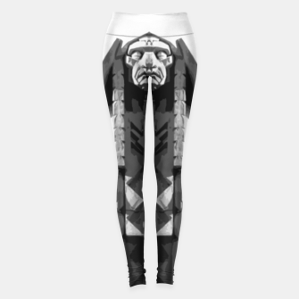 Thumbnail image of Indian face sculpture Legginsy, Live Heroes