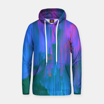 Thumbnail image of Neon Noir - Glitchy Abstract Pixel Art Hoodie, Live Heroes