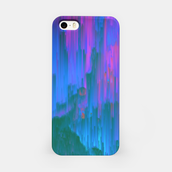 Miniaturka Neon Noir - Glitchy Abstract Pixel Art iPhone Case, Live Heroes