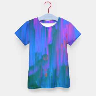 Thumbnail image of Neon Noir - Glitchy Abstract Pixel Art Kid's t-shirt, Live Heroes