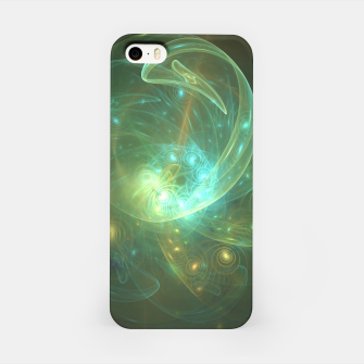 Thumbnail image of Light Dancer Abstract Fractal Art Design iPhone Case, Live Heroes
