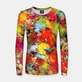 Thumbnail image of Big colour storm Women sweater, Live Heroes