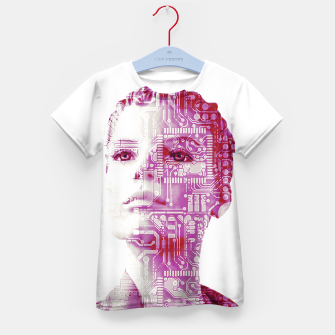 Thumbnail image of Artificial intelligence Kid's t-shirt, Live Heroes