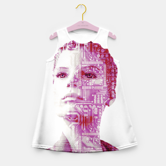Thumbnail image of Artificial intelligence Girl's summer dress, Live Heroes