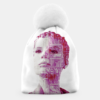 Thumbnail image of Artificial intelligence Beanie, Live Heroes