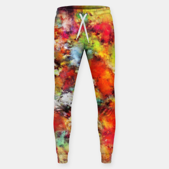 Thumbnail image of Big colour storm Sweatpants, Live Heroes