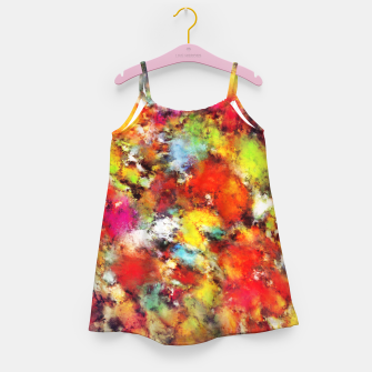 Thumbnail image of Big colour storm Girl's dress, Live Heroes