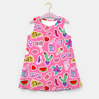 Thumbnail image of Pink Punch Girl's summer dress, Live Heroes
