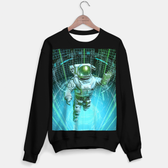 Diving The Data Core Astronaut Sweater regular thumbnail image