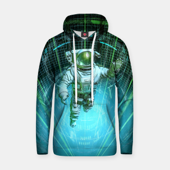Thumbnail image of Diving The Data Core Astronaut Hoodie, Live Heroes