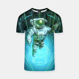 Thumbnail image of Diving The Data Core Astronaut T-shirt, Live Heroes