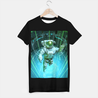 Thumbnail image of Diving The Data Core Astronaut T-shirt regular, Live Heroes