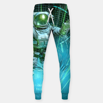 Thumbnail image of Diving The Data Core Astronaut Sweatpants, Live Heroes