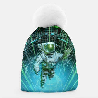 Diving The Data Core Astronaut Beanie thumbnail image