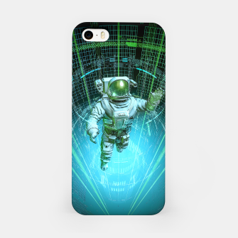 Diving The Data Core Astronaut iPhone Case thumbnail image