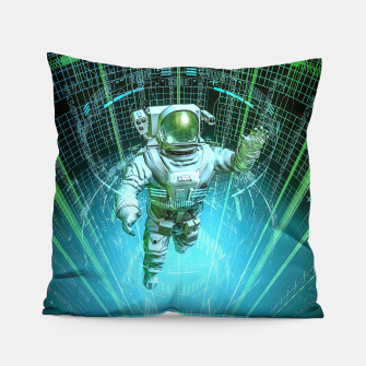 Diving The Data Core Astronaut Pillow thumbnail image