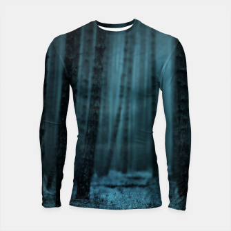 Thumbnail image of Midnight Forest Longsleeve rashguard, Live Heroes