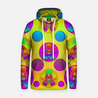 Thumbnail image of Power flowers in festive flower power festival pop art Hoodie, Live Heroes