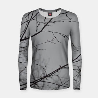 Thumbnail image of Branches impressions Women sweater, Live Heroes