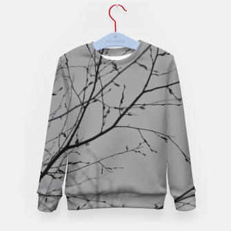 Thumbnail image of Branches impressions Kid's sweater, Live Heroes