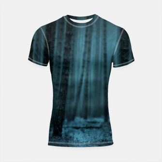 Thumbnail image of Midnight Forest Shortsleeve rashguard, Live Heroes