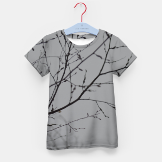 Thumbnail image of Branches impressions Kid's t-shirt, Live Heroes