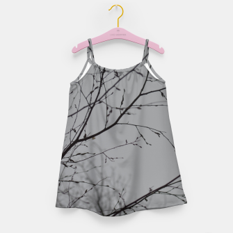 Thumbnail image of Branches impressions Girl's dress, Live Heroes