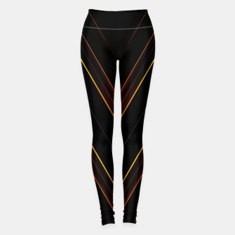 Thumbnail image of Neon Ribbon V Leggings, Live Heroes