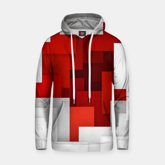 Miniaturka Abstract Red and White Hoodie, Live Heroes