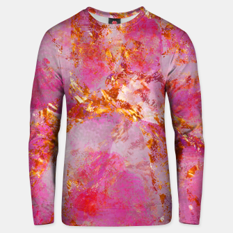 Dauntless Pink Vivid Abstract |  Unisex sweater thumbnail image