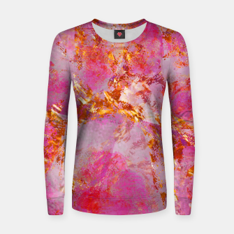 Dauntless Pink Vivid Abstract |  Women sweater thumbnail image
