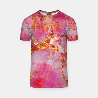 Dauntless Pink Vivid Abstract |  T-shirt thumbnail image
