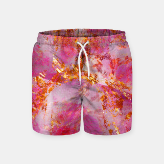 Dauntless Pink Vivid Abstract |  Swim Shorts thumbnail image